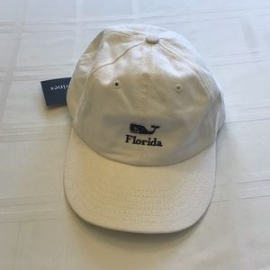 NEW.  Vineyard Vines Florida Baseball Cap.